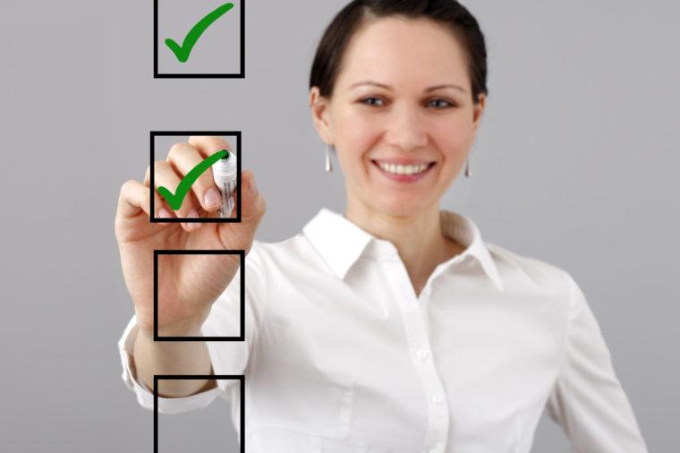 corporate housing checklist