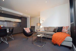 Wrap Apartments, City Road - lounge