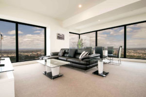 Eureka 1 bedroom apartment - living
