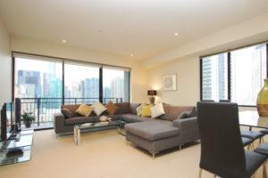 Clarendon Street Apartments - living room