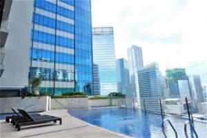 Icon Plaza Studio Apartment - BGC - building