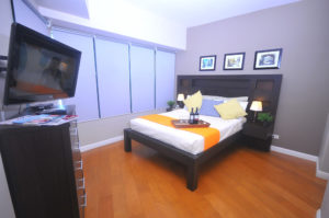 One Rockwell Apartment, Makati City - bedroom