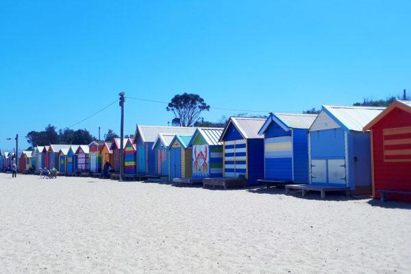 Brighton beach sheds