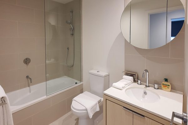 WRAP Apartments - bathroom